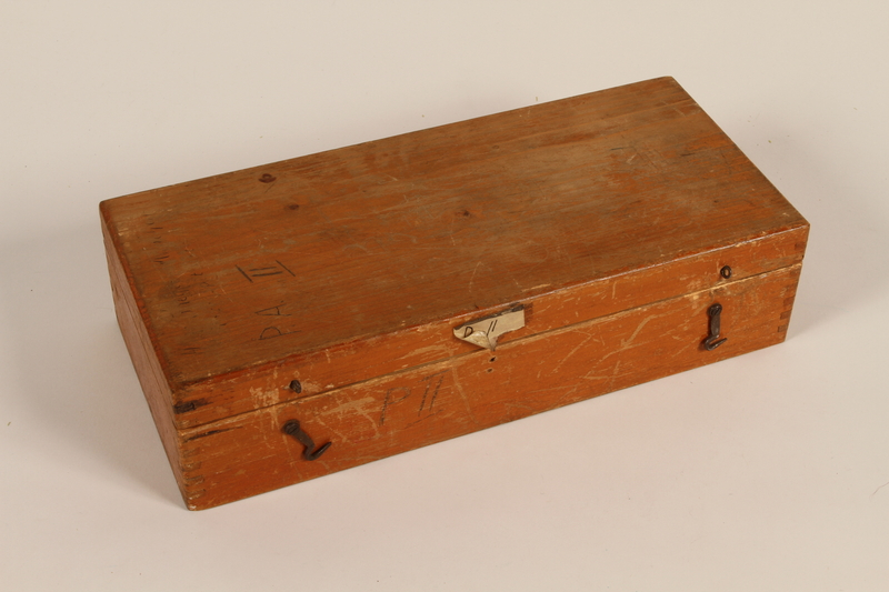 2011.432.6 closed Slide box used by Hitler's personal photographer