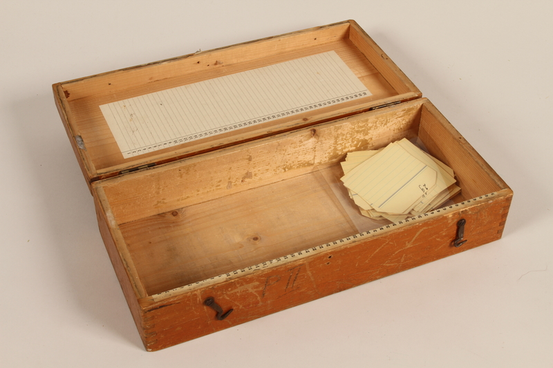 2011.432.6 open Slide box used by Hitler's personal photographer