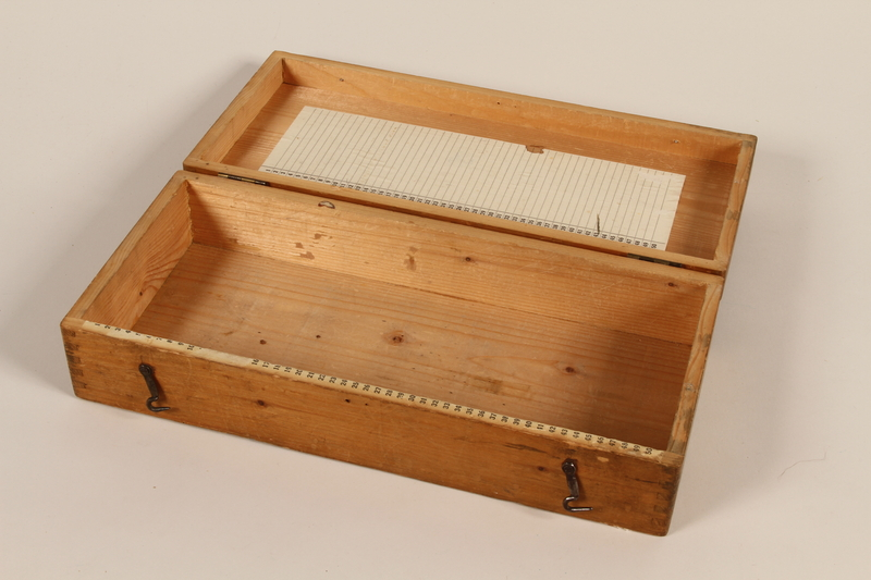 2011.432.7 open Slide box used by Hitler's personal photographer