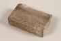 Unused brown soap bar imprinted RIF 0667