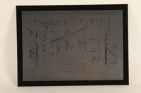 1989.1031 front Engraved commemorative plaque  Click to enlarge
