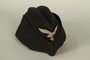 Luftwaffe ground crew overseas cap with eagle acquired by US soldier