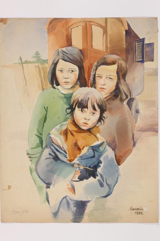 2010.502.11 front Watercolor portrait