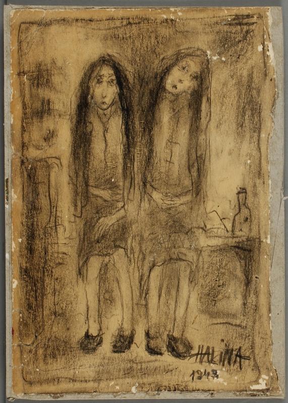CM_2001.122.4_001 front Halina Olomucki drawing