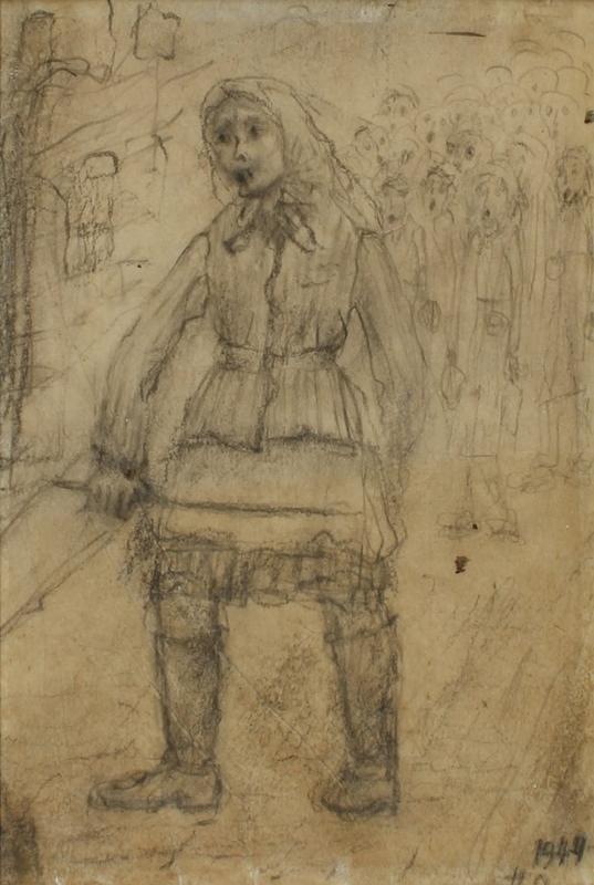 CM_2001.122.8_001 front Halina Olomucki drawing