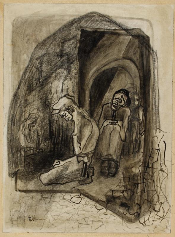CM_2001.122.23_001 front Halina Olomucki drawing