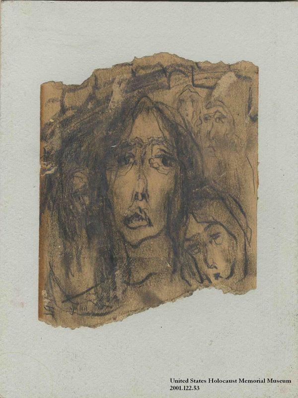 2001.122.53 front Halina Olomucki drawing