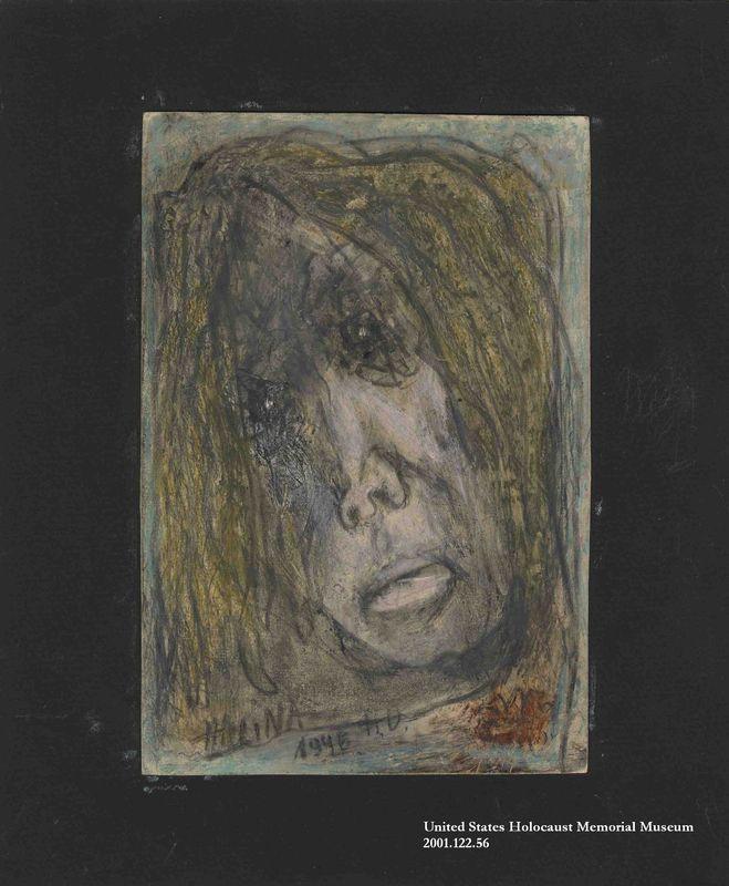 2001.122.56 front Halina Olomucki drawing