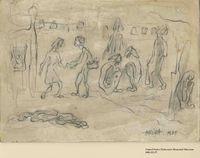 2001.122.57 front Halina Olomucki drawing  Click to enlarge