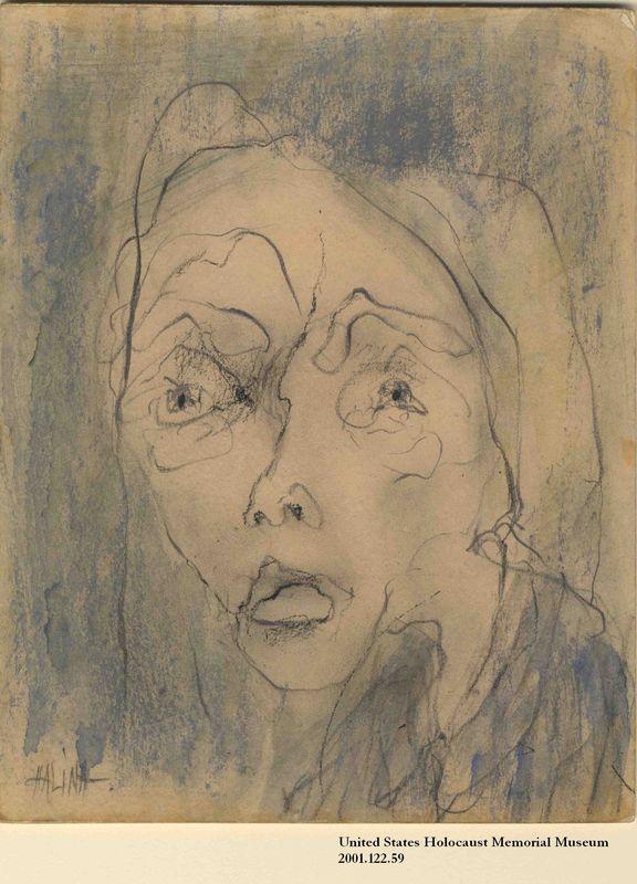 2001.122.59 front Halina Olomucki drawing