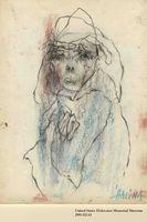 2001.122.62 front Halina Olomucki drawing  Click to enlarge