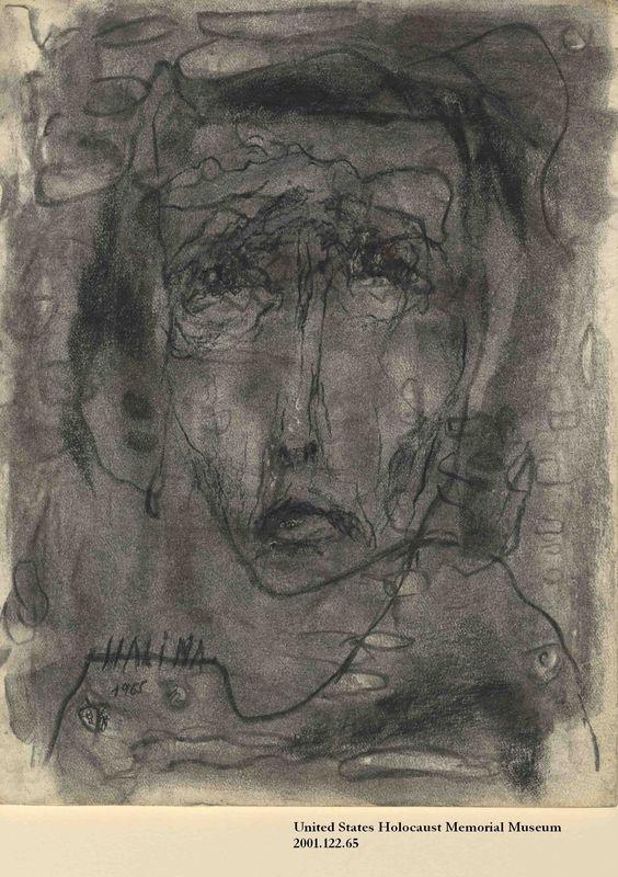 2001.122.65 front Halina Olomucki drawing