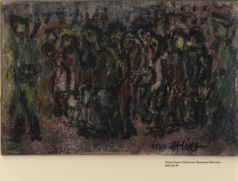 2001.122.90 front Halina Olomucki drawing