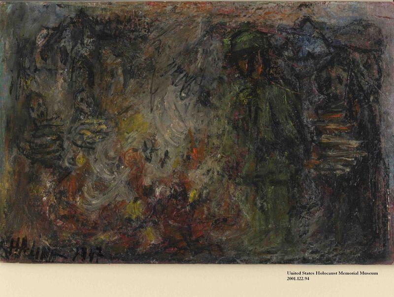 2001.122.94 front Halina Olomucki drawing