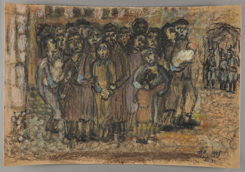 2001.122.213 front Halina Olomucki drawing