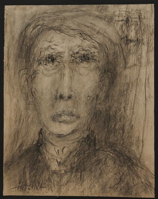 2001.122.294.1 front Halina Olomucki drawing
