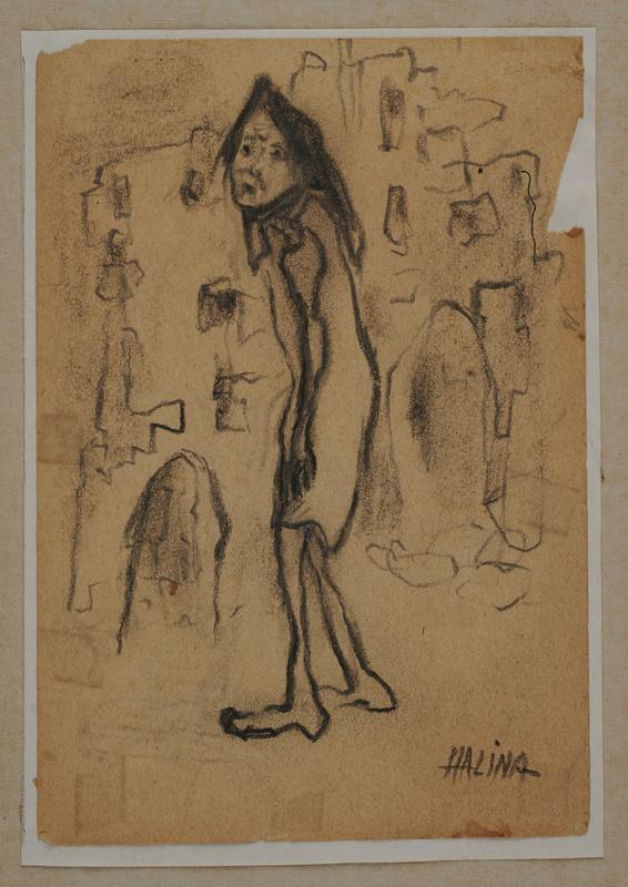 2001.122.294.3 front Halina Olomucki drawing