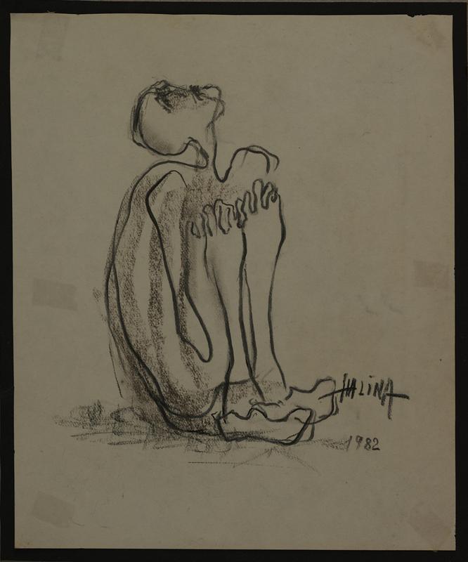 2001.122.295.2 front Halina Olomucki drawing