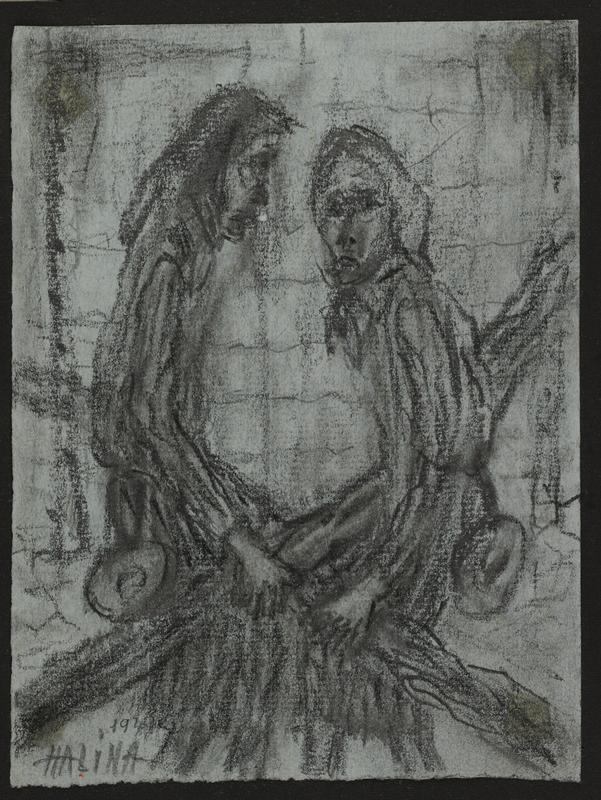2001.122.295.3 front Halina Olomucki drawing