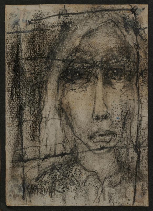 2001.122.295.6 front Halina Olomucki drawing