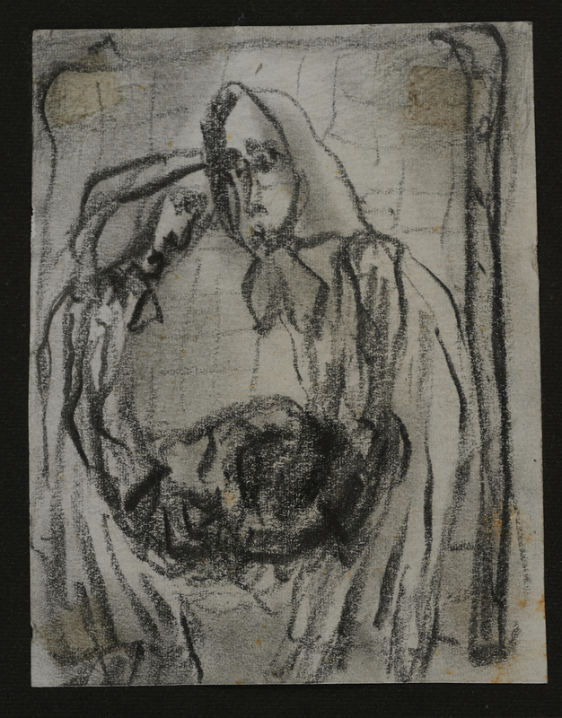 2001.122.295.7 front Halina Olomucki drawing