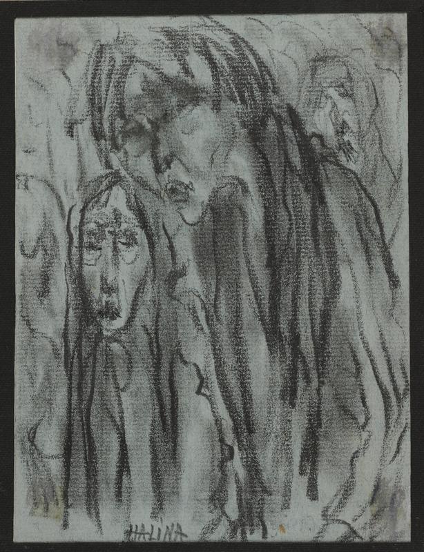 2001.122.295.8 front Halina Olomucki drawing