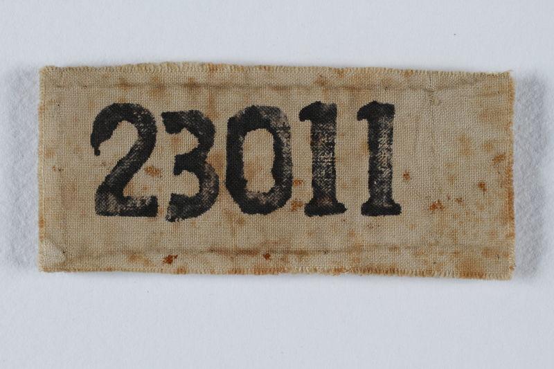 2002.204.3 front Prisoner identification patch