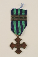 2002.224.4 front Medal  Click to enlarge