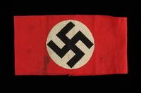 2002.242.2 front Nazi swastika armband  Click to enlarge