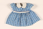 Child's blue print dress