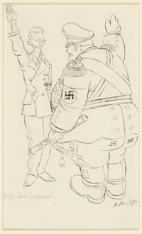 CM_1995.40.3 front Arthur Szyk drawing