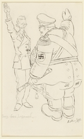 CM_1995.40.3 front Arthur Szyk drawing  Click to enlarge