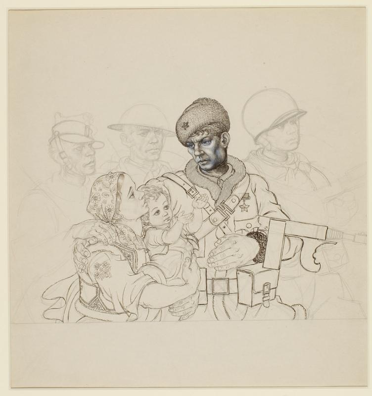 CM_1995.40.18 front Arthur Szyk drawing