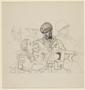 Arthur Szyk drawing