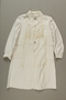 Woman's lab coat owned by a Czech Jewish inmate while a nurse in Theresienstadt