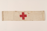 2002.312.3 front Red Cross armband  Click to enlarge