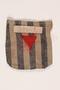 Concentration camp inmate uniform pocket fragment