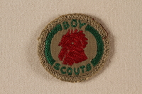 2000.508.2 front Boy Scout badge  Click to enlarge