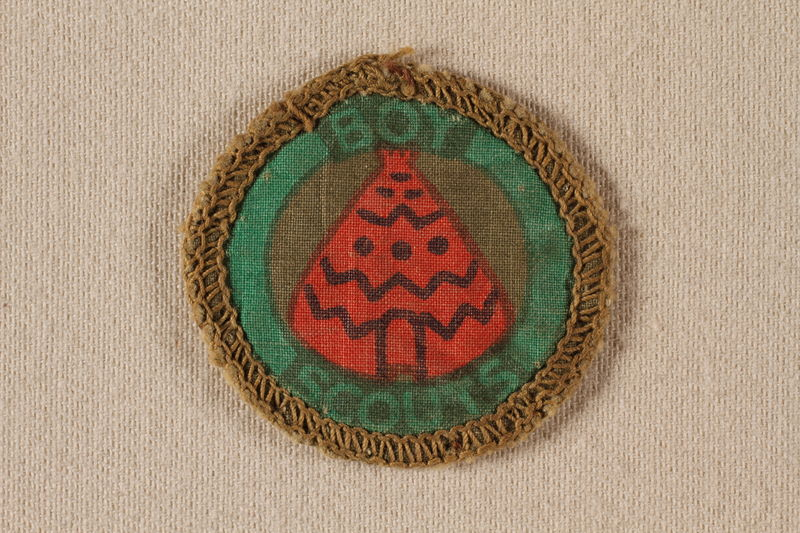 2000.508.3 front Boy Scout badge
