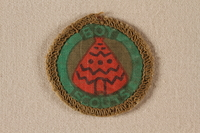 2000.508.3 front Boy Scout badge  Click to enlarge