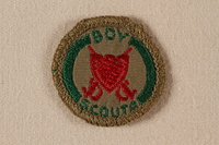 2000.508.4 front Boy Scout badge  Click to enlarge