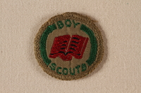2000.508.5 front Boy Scout badge  Click to enlarge