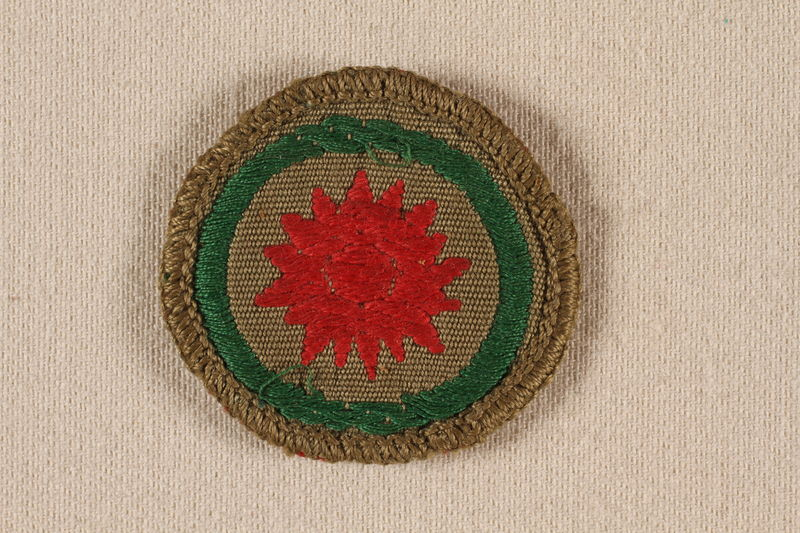 2000.508.8 front Boy Scout badge