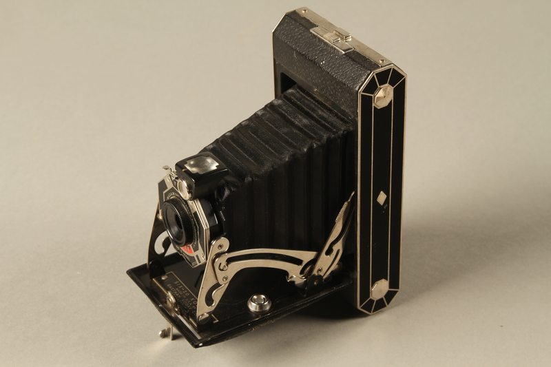 Six-20 Kodak camera and accessories used by US soldier