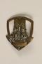 Eclaireurs Israélites de France badge with Judean lions and tablets