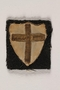 British 8th Army Crusade sleeve patch worn by a Jewish medical officer, 2nd Polish Corps