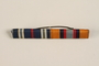 Two place service distinction ribbon bar awarded to a Jewish medical officer, 2nd Polish Corps