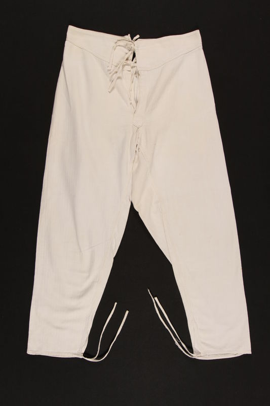 2003.193.4 front Long underwear worn by a Jewish Polish partisan in the Soviet Army
