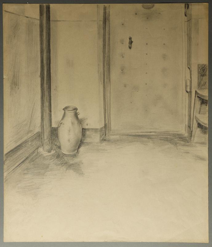 1988.5.9 front Satirical drawing by Karl Schwesig depicting a German prison
