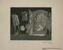 Plate 1, Herbert Sandberg, Der Weg: young painter being told to pursue money not art